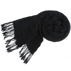 Black Fiber Scarf,,womens Scarf,,wholesale Scarf,hot Sale