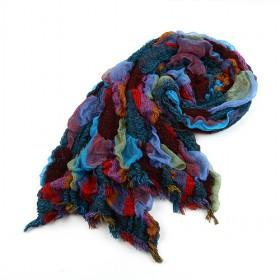 Fashion Wrinkle Scarf,womens Scarf,,wholesale Scarf,hot Sale
