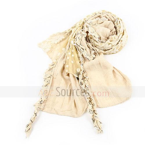 fashion beige woman shawl