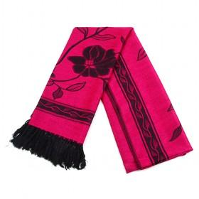 Rose Red Floral Scarf,long Scarf,new Design,fashion Scarf,womens Scarf,wholesale Scarf