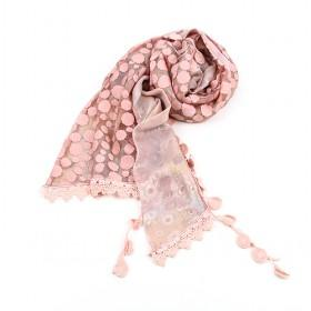 Pink Spot Scarf,new Design,fashion Scarf,womens Scarf