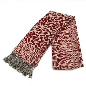 Fashion Fresh Red Leopard Cotton Scarf ,womens Scarf,wholesale Scarf