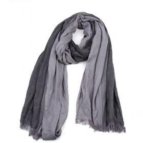 Fashion Grey And Black Stripes Scarf,cotton Scarf,hot Sale