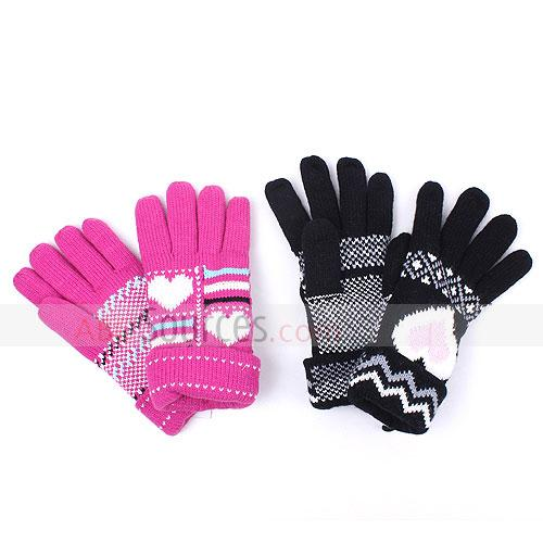 fashion knitted gloves