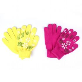 Snowflake Gloves, Multi-color, Best-selling