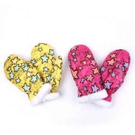Star Gloves With Soft Nap, Multi-color, Best-selling