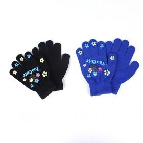Little Flowers Gloves, Multi-color, Best-selling