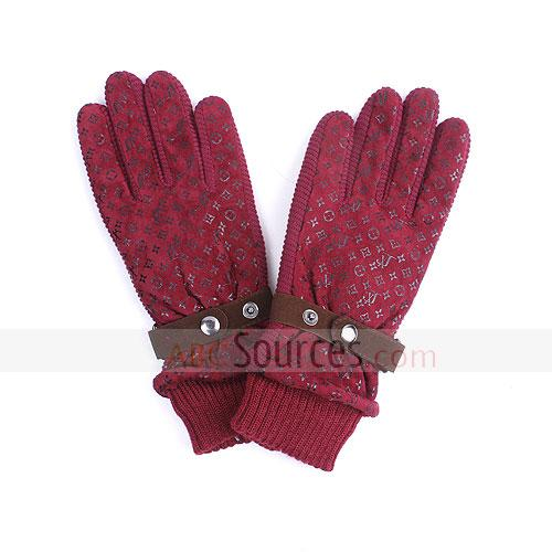 fake fiber gloves