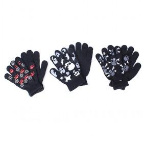 Skull Gloves, Multi-color, Best-selling