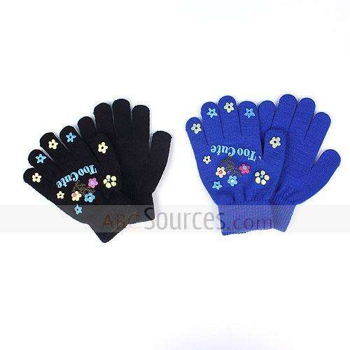little flowers gloves
