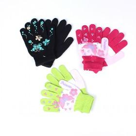 Fashion Butterfly Gloves Multi Color