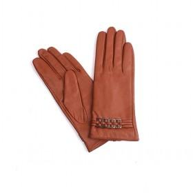 Goatskin Gloves With Buckles