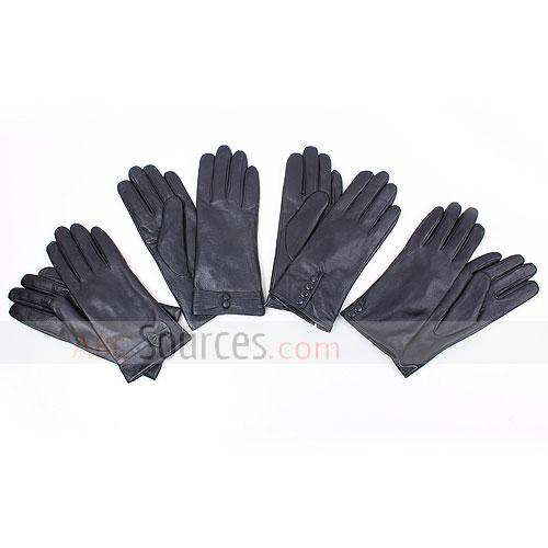 Genuine leather gloves