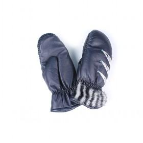 Fashion Woman PU Leather Mittens