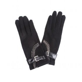 Cashmere Gloves With Hasp