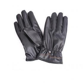 Thicken Double Layer Pu Gloves,men Gloves