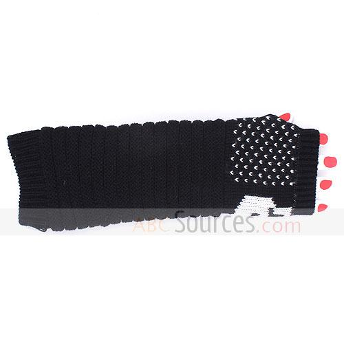Fashion Long fingerless glove