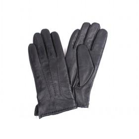 Genuine Leather Gloves With 3 Strings,man Gloves