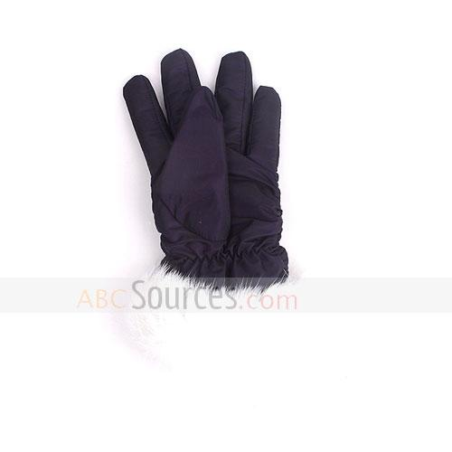space cotton gloves