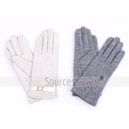 top-range cashmere gloves