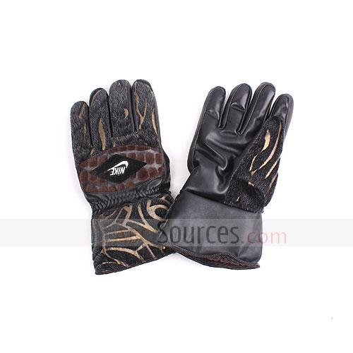 anti-mink fabric gloves
