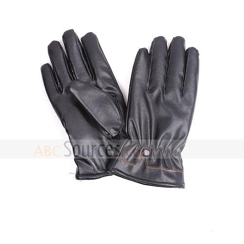 Thicken pu gloves