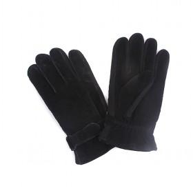 Pigskin Gloves With Buckle,men Gloves