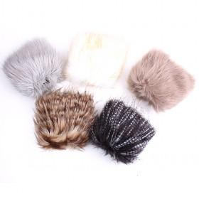 Fashion Rabbit Fur Foot Muff