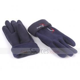 Black Polar Fleece Gloves