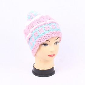 Manual Roving Yarn Hat, Ladies Hat, Winter Hat