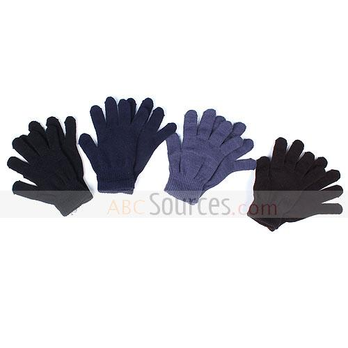 plain acrylic gloves