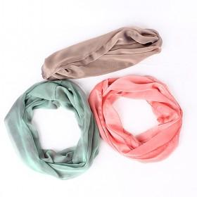 New Arrival Fashion Scarf, Lady Silk Scarf And Bib, Girl 's Scarf