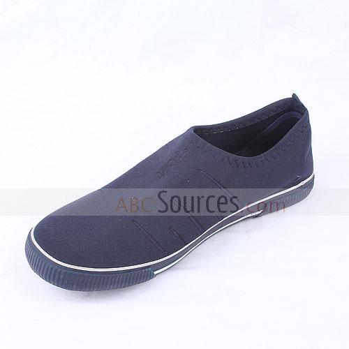 rubber-soled  shoes