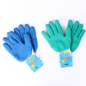 Full Fingers Outdoor Cycling Driving Camping Nylon ; Rubber Gloves