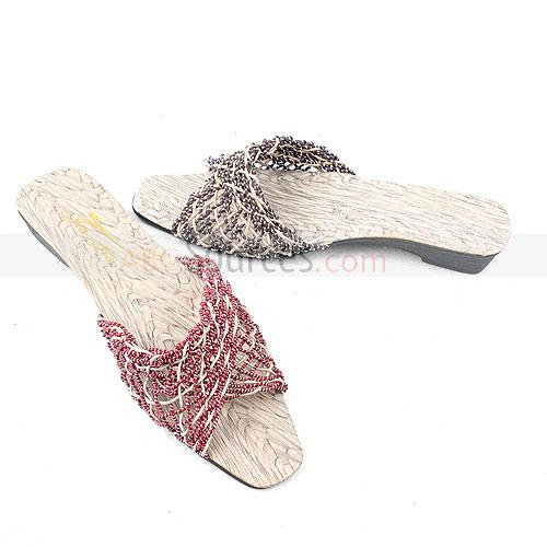 fashion woman slippers