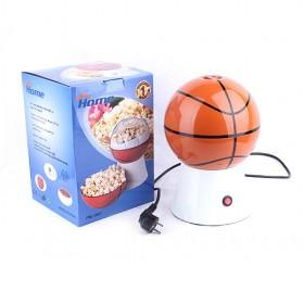 High Quality Basketball Design Electric Plastic Popcorn Machine At Home Easily DIY