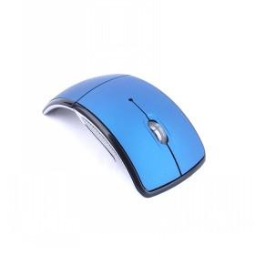 Novelty And Simple Design Blue And Silver Wireless Computer Mouse