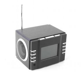 Classic Simple Black And Silver Design SD/TF Card Digital Speaker/ Amplifier