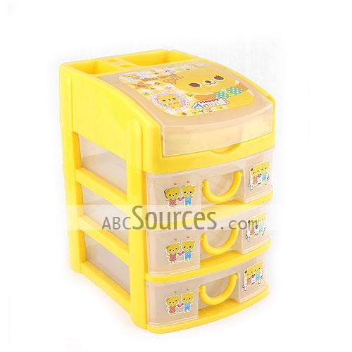 Yellow Small Plastic Storage Boxes With Storage Drawer and Storage Lid  sc 1 st  Abc Sources : small storage drawers plastic  - Aquiesqueretaro.Com