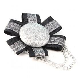 Black Silver Clothing Accessory