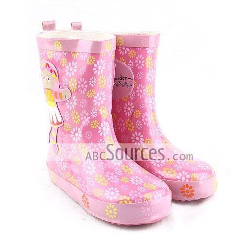 Pretty Rain Boots - Cr Boot
