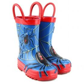 wholesale Kids Rain Boots Blue Spide-LC101311173