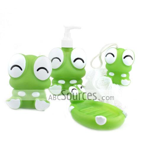 Cartoon bathroom set