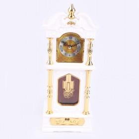Nice Pastoral Garden Classical Stylish Thermometer Multifunctional Mute Alarm Clock