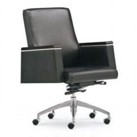Hot Sale Simple Stylish Design Plain Black Computer Chair/ Office Chair/ Boss Chair