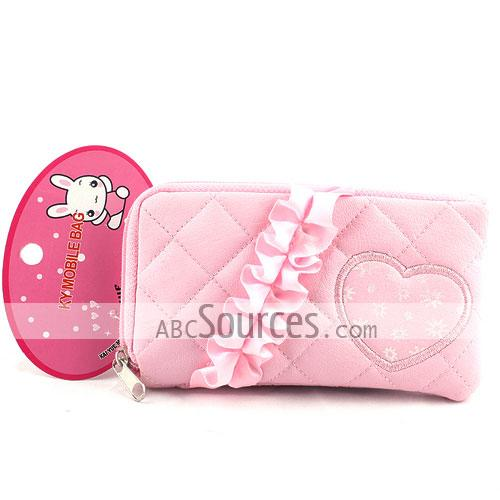 New Crown Sweet Heart Pouch/mobile Phone Case/mobile Phone Pouch/mobile Phone Bag/card Case/pu Wallet/purse