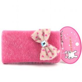 New Sweet Tie Pouch/mobile Phone Case/mobile Phone Pouch/mobile Phone Bag/card Case/pu Wallet/purse