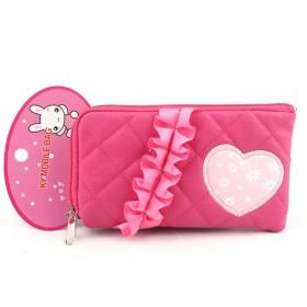 New Rose Red Pouch/mobile Phone Case/mobile Phone Pouch/mobile Phone Bag/card Case/pu Wallet/purse