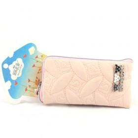 New Peach Pink Pouch/mobile Phone Case/mobile Phone Pouch/mobile Phone Bag/card Case/pu Wallet/purse