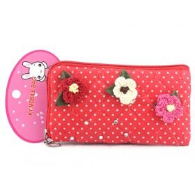 Promotions!! Hot Sale High Fashion Flower Cellphone Case Wallet/mobile Phone Case/cellphone Bag/wallet